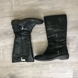 Black Knee-High UGG Boots